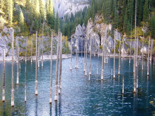 Kaindy-Lake-in-Kazakhstan9