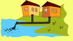 domestic-sewage-disposal-causes-water-pollution