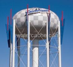 Water tank in Joliet, IL