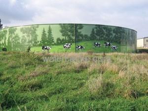 City of Lynden, WA steel water tank