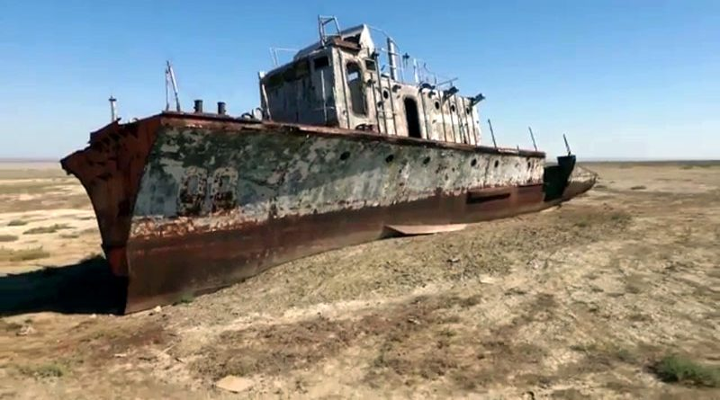 Клип про Аральское море