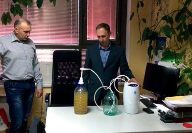 Фильтрация железистой воды
