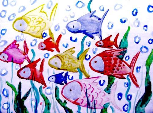 Путешествие рыбок