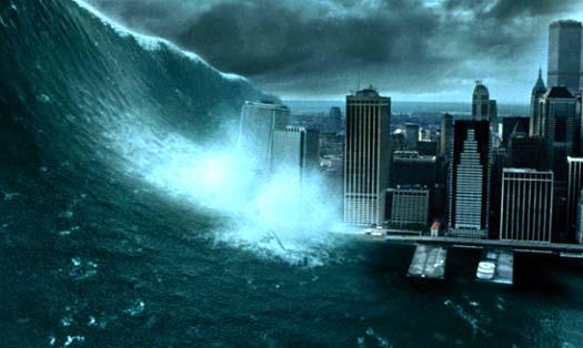 гигантская цунами