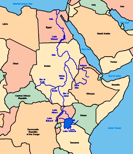 Нил — река в африке одна из двух