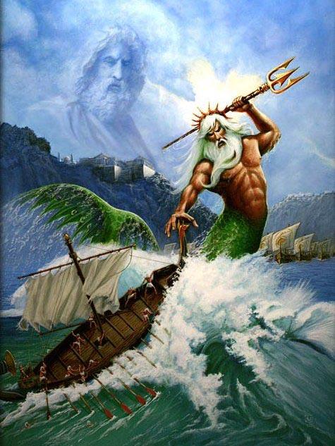 Океан в мифах народов Средиземноморья