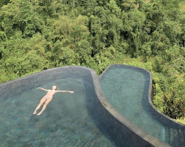 Отель Ubud Hanging Gardens