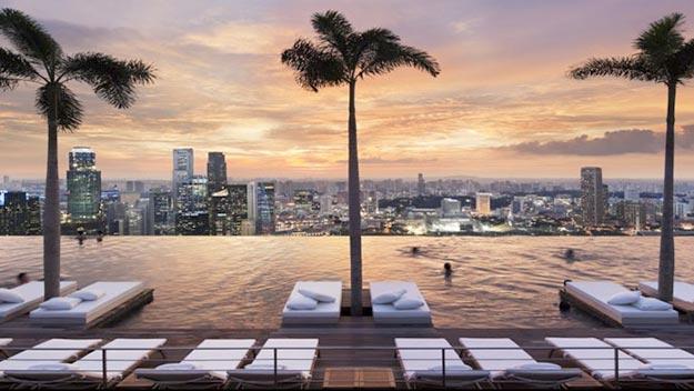 Отель Marina Bay Sands Hotel