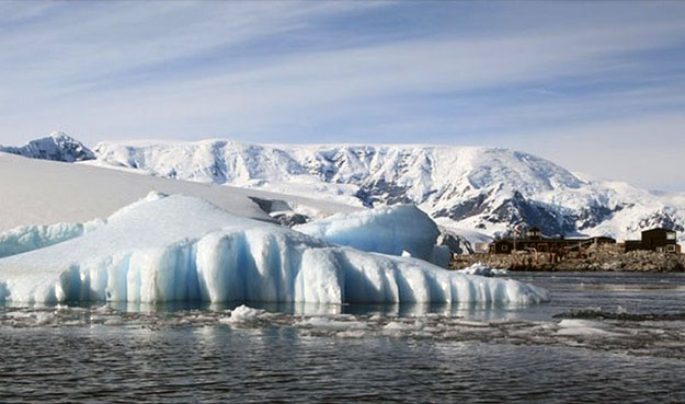 Антарктида и Атлантика.