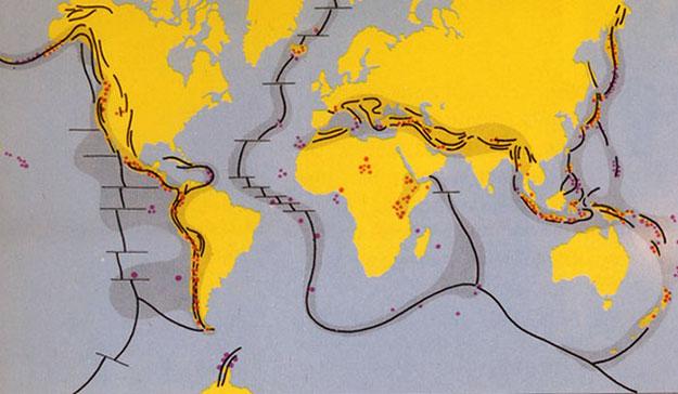 Самая длинная горная цепь Земли.