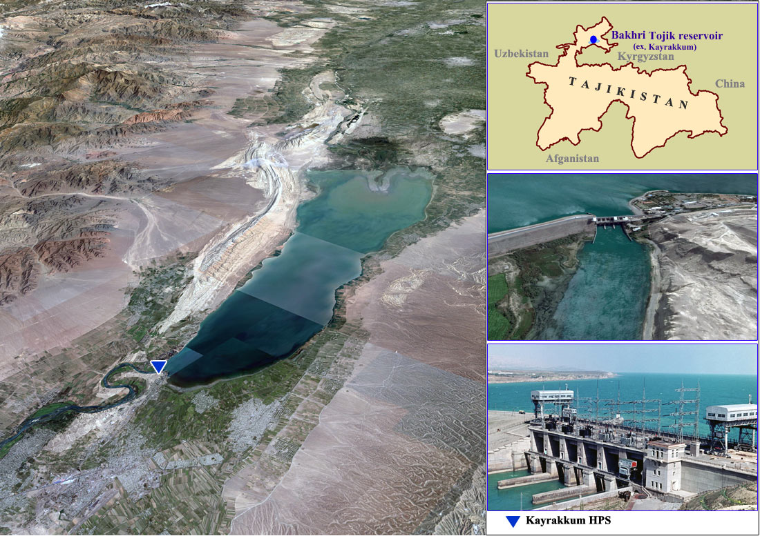 Kayrakkum Reservoir (Tajikistan), Mirnaya Bay: recreation